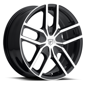 Pinnacle P78 Vane 18X7.5 Black Machine