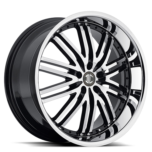 II Crave Number 22 20 X 8.5 Inch Rims (Black Machined ...