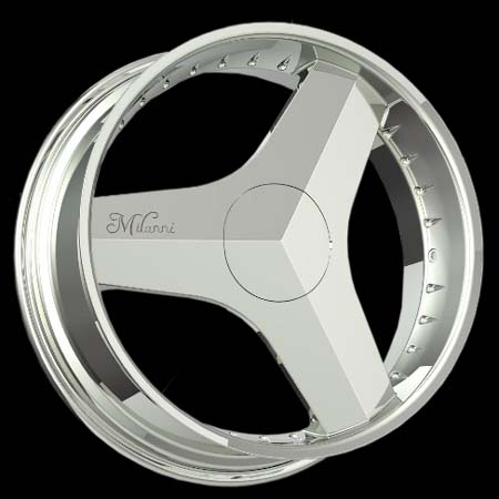 Chrome  Wheels on Milanni Wheels 448 Blade Chrome Jpg