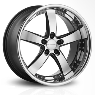 Vossen VVS 084 (Black Machined)