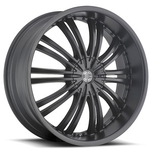 Crave Number 1 Satin Black 17 X 7 Inch Wheels