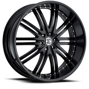Crave Number 11 Satin Black 28 X 9.5 Inch Wheels