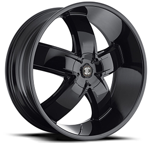 Crave Number 18 Gloss Black 26 X 9.5 Inch Wheels