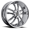 Crave Number 21 Chrome 24 X 10 Inch Wheels