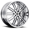 Crave Number 22 Chrome 20 X 8.5 Inch Wheels