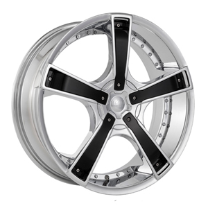 Starr Wheels 663 Bones Chrome Center Cap