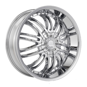 Starr 664 Medusa Chrome Machined Center Cap