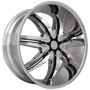 Starr 777 Jackpot Chrome Center Cap