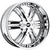 Avenue A607 Chrome 24 X 9.5 Inch Wheel