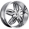 Avenue A609 Chrome 20 X 9 Inch Wheel