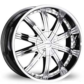 Dinivity D12 Chrome Wheel Packages