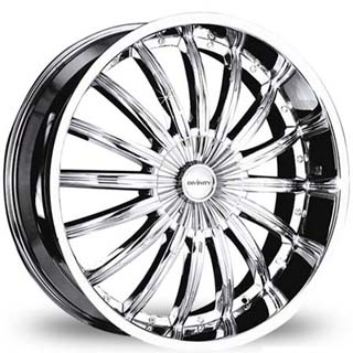 Divinity D18 Chrome Wheel Packages