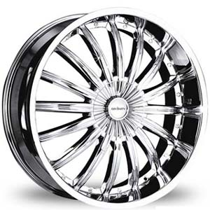 Divinity D18 Chrome 18 X 7.5 Inch Wheels