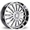 Divinity D18 Chrome 24 X 10 Inch Wheels