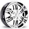 Divinity D20 Chrome 24 X 10 Inch Wheels