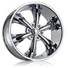 DCenti DW 19B Chrome 24 X 9.5 Inch Wheel