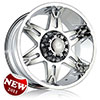 DCenti DW 902 Chrome 17 X 9 Inch Wheel