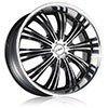 DCenti DW 909 Black Machined Wheel Packages