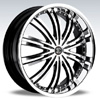 Crave Number 1 Machined Black 15 X 7.5 Inch Wheels