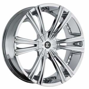 Crave Number 12 Chrome 28 X 9.5 Inch Wheels