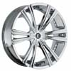 Crave Number 12 Chrome 24 X 10 Inch Wheels