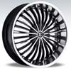 Crave Number 13 Black Machine - 18 Inch Wheels