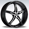Crave Number 14 Black Diamond - 18 Inch Wheels