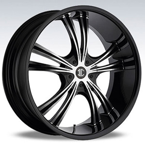 Crave Number 2 Black 15 X 7 Inch Wheels
