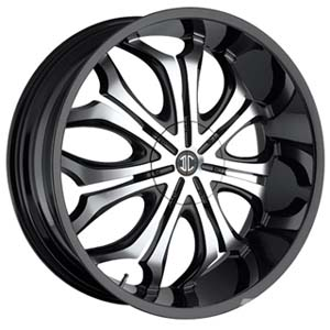 Crave Number 8 Black 26 X 9.5 Inch Wheels