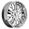 Incubus 500 Paranormal Chrome 24 X 10 Inch Wheel