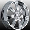 Incubus 501 Poltergeist 18 X 8.5 Inch Wheels