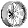 Incubus 518 Recoil 17 X 10 Inch Wheels