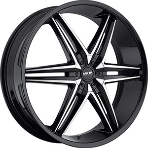 MKW Type 106 Black Wheel Packages