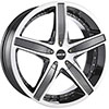 MKW Type 107 Gunmetal 17 X 7.5 Inch Wheel
