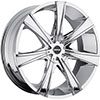 MKW Type 108 Chrome 24 X 9.5 Inch Wheel