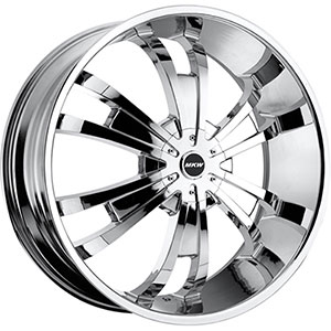 MKW Type 109 Chrome Wheel Packages