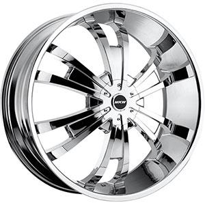 MKW Type 109 Chrome 24 X 9.5 Inch Wheel