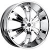 MKW Type 109 Chrome 24 X 9.5 Inch Wheel