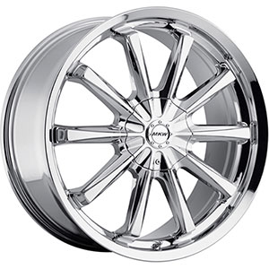 MKW Type 110 Chrome Wheel Packages