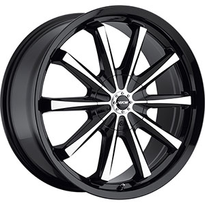 MKW Type 110 Black 15 X 6.5 Inch Wheel
