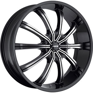 MKW Type 111 Black Wheel Packages