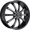 MKW Type 111 Black 22 X 8.0 Inch Wheel