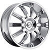 MKW Type 112 Chrome 24 X 9.5 Inch Wheel