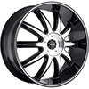 MKW Type 112 Black 24 X 9.5 Inch Wheel