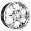Pinnacle P42 Rio Chrome FWD 17 x 7.5