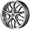 Von Max 2 Chrome 16 X 7 Inch Wheels