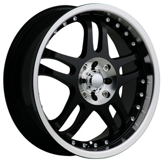 Akuza 421 Black Wheel Packages