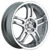 Akuza 421 Silver 17 X 7.5 Inch Wheel