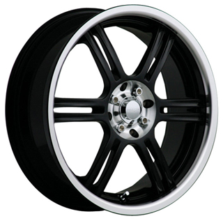 Akuza 424 Black Wheel Packages