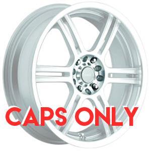 Akuza 424 Silver Caps